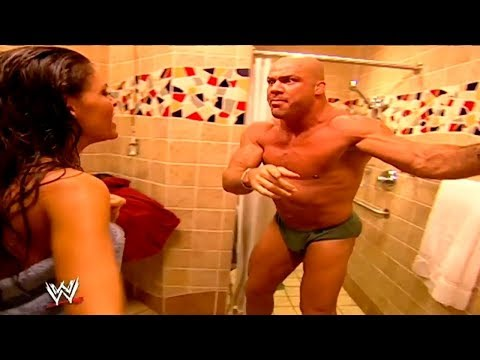 Kurt Angle,Big Show And Joy Giovanni Best Segment   -   Smackdown