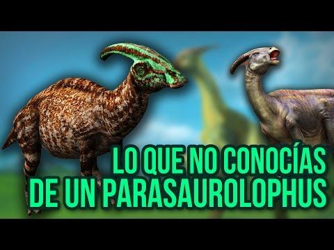 Lo que no conocías de un Parasaurolophus