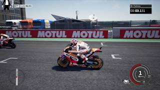 DANI PEDROSA ULTIMA CARRERA HONDA GRAN PREMIO DE COMUNITAT VALENCIANA Moto GP 18