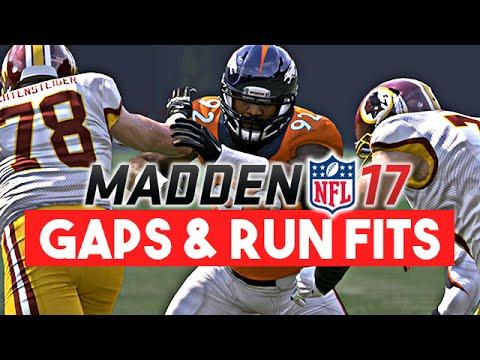 Madden 17 News | Defensive Improvements - Gap Play & Run Defense