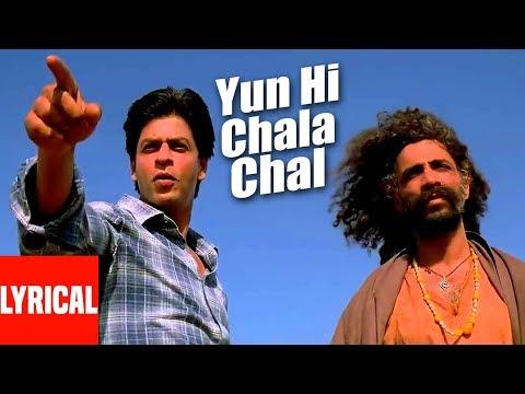 Yun Hi Chala Chal Lyrical Video Swades AR Rahman Shahrukh Khan