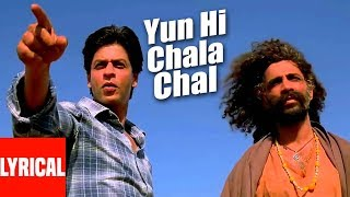 Yun Hi Chala Chal Lyrical Video Swades A R Rahman Shahrukh Khan