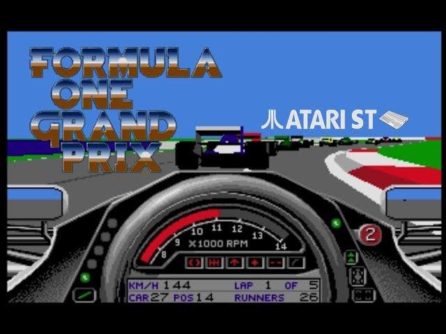 Formula One Grand Prix - Atari ST (1991)