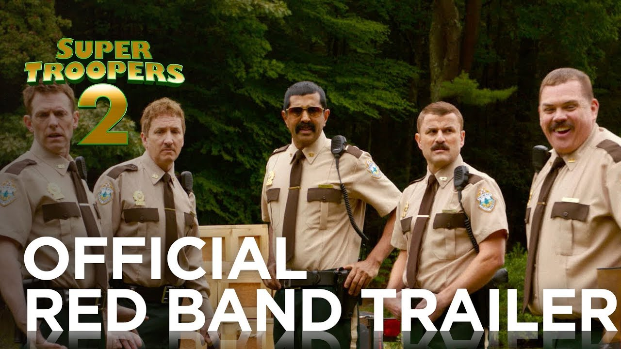 The 'Super Troopers 2' Trailer Is Full of Canadian Mounties and Rob Lowe