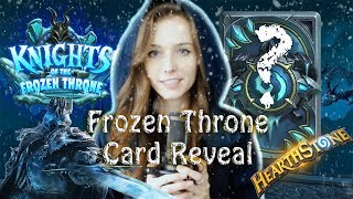 BREAKING NEWS || Frozen Throne Card Reveal