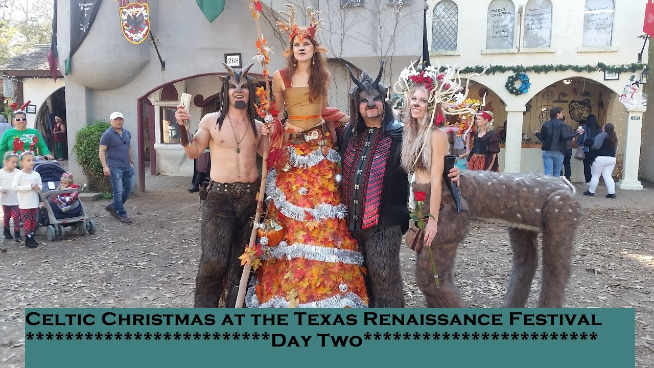 Celtic Christmas at the Texas Renaissance Festival Day Two - YouTube