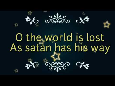 O the world is lost || Jingle bells redeemed|| Christmas song|| English|| lyrical video Christian