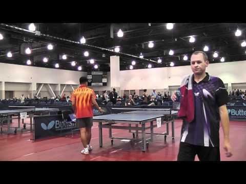 2011 US Open Sandpaper Semi Finals - Gonzales v Hoff