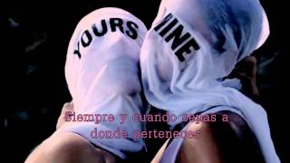 Repeat youtube video Beyoncé - Mine ft. Drake (Letra en Español)