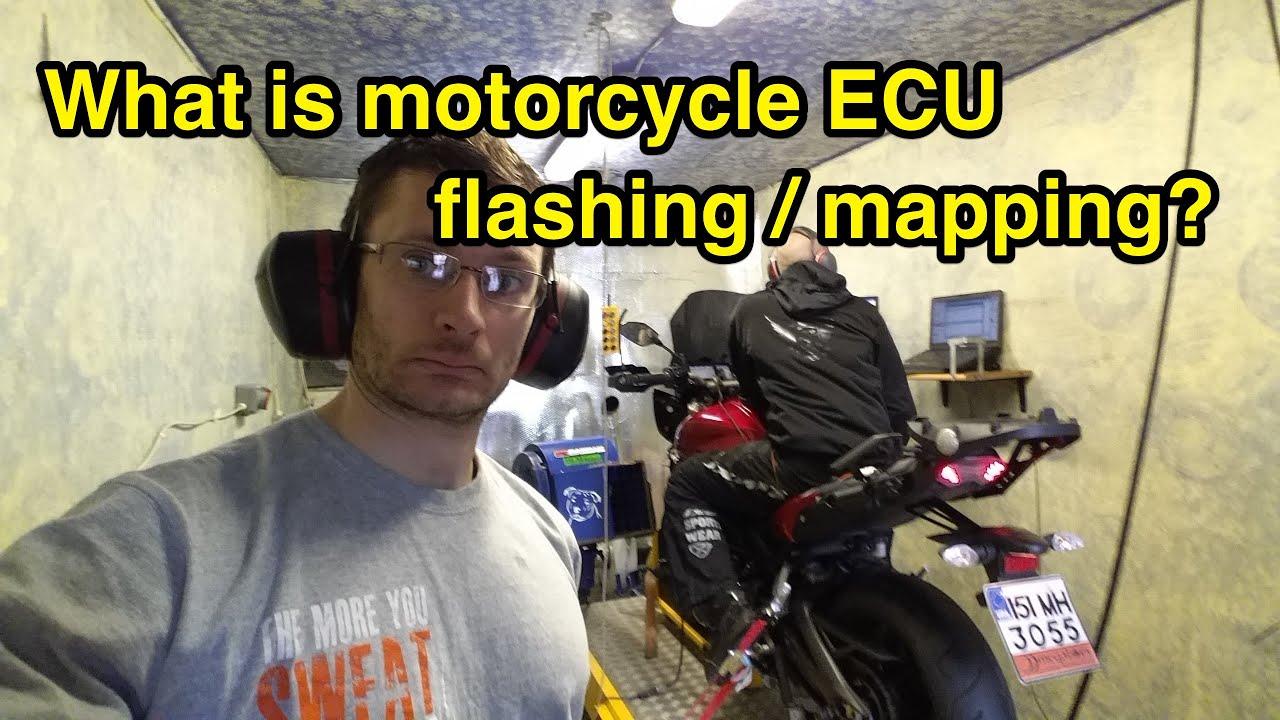 What is motorcycle ECU flashing?
