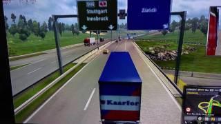 Euro Truck Simulator 2 on Lenovo ideacentre stick 300 (Intel Atom Z3735f)