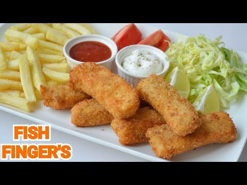 Fish Fingers By (YES I CAN COOK) #FingerFish #FishAndChips #Homemade #FriedFish #CrispyFish #Machli