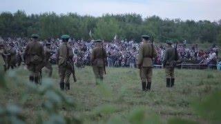 Оборона Брестской Крепость 22 июня 1941 г. Реконструкция 2013 г.