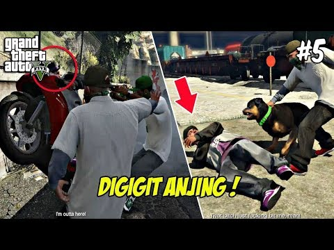 NYULIK ANGGOTA GANG BALLAS | GTA 5 MISI (5) CHOP | PC