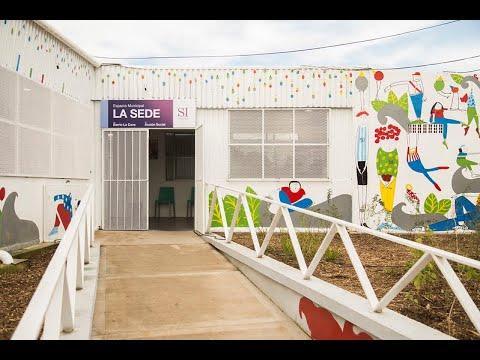 Posse inauguró un centro de inclusión en La Cava