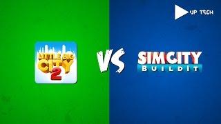 Little Big City 2 VS SimCity Bulildlt-Points