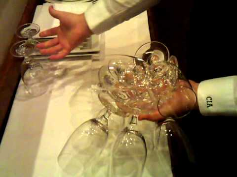 CIA Water Glass Holding