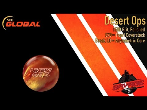 900 Global Desert Ops - Zach Spencer - Savagebowling.com