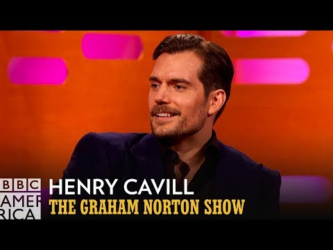 All The Things Henry Cavill Can't Do With a Moustache   The Graham Norton