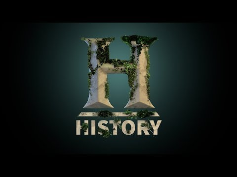 0117. Cinema 4D Tutorial - History Channel Logo (Ivy Grower Plugin)