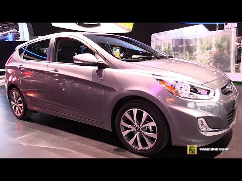 2015 Hyundai Accent Exterior and Interior Walkaround 2015 Detroit Auto Show