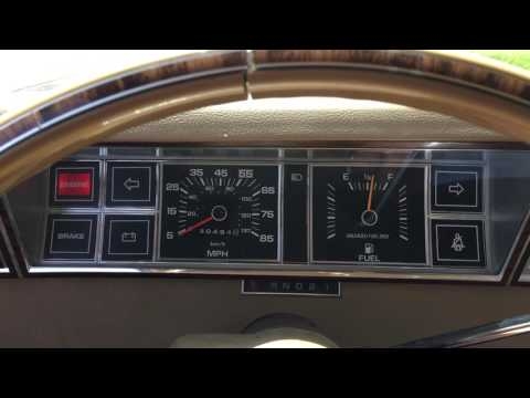 1982 Dodge Aries Cold Start