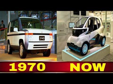 Honda Concept Evolution 1970 2018 Youtube