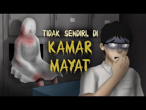 Tak Sendiri di Kamar Mayat   Kartun Hantu Seram, Animasi Horor Misteri   Rizky Riplay