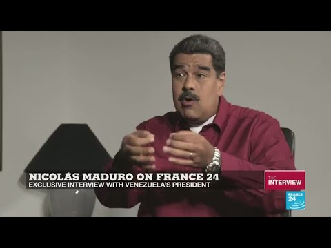 EXCLUSIVE - ''Ultra-right'' Macron is ''destroying France'', Venezuela's Maduro tells France 24