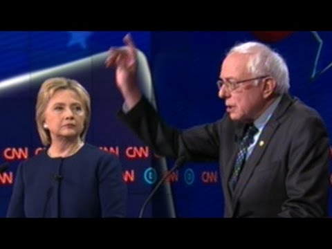 BERNIE SANDERS vs HILLARY CLINTON Democratic Presidential Debate In Flint Michigan (FULL DEBATE)
