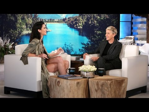 ELLEN SHOW KENDALL JENNER FULL INTERVIEW & Game HOT HANDS_KARDASHIAN JENNER EDITION SPECIAL {VIDEO}+