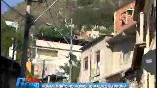 Homem morto com varios tiros no Morro do Macaco-Tabuzeiro, em Vitória - Folha Vitória-ES