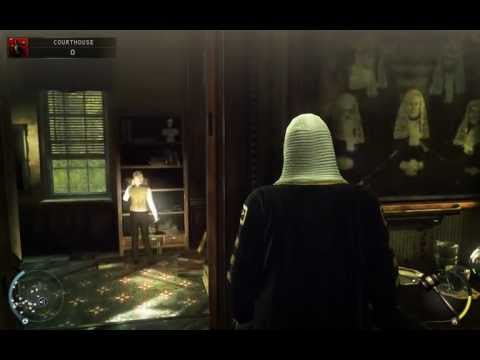 Hitman Absolution — Skurky's Law - Courthouse - Silent Assassin.