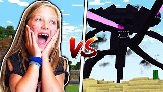 10 YEAR OLD vs THE STRONGEST MINECRAFT BOSS!!