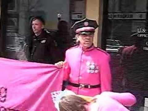 Code Pink April Fool's Day Hoax in Berkeley: Marines leave!