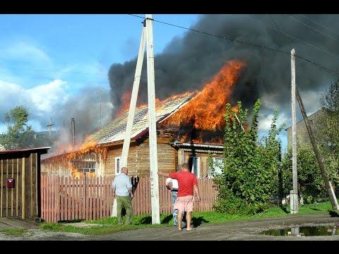 Пожар Поназырево ул.Красноармейская