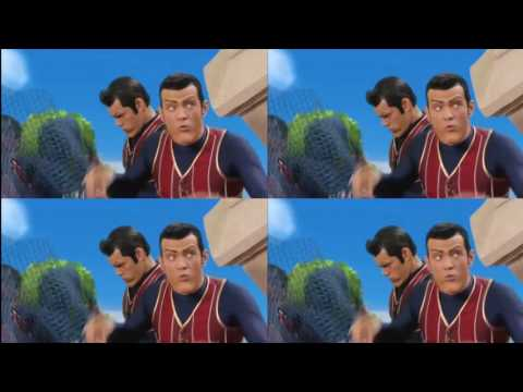 "Robbie Rotten says ""Look at this net"" over 40 millions times"