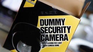£1 Dummy CCTV Camera Unboxing /Take Apart