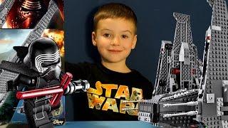 Обзор Лего 75104 по фильму Звёздные Войны Эпизод 7 - Шаттл Кайло Рена - на русском языке