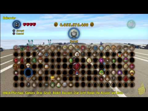 Lego Marvel Super Heroes: Guardians Of The Galaxy Trophy/Achievement - HTG