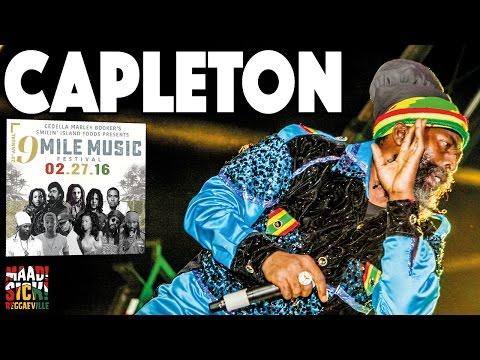 Capleton @9 Mile Music Festival in Miami February 27th 2016