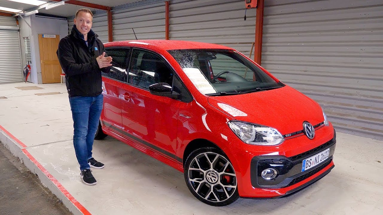 Vw Golf Gti Performance 2017 >> Volkswagen Up GTI Walkaround | Top Gear | BBC - YouTube