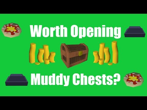 [OSRS] Is it Worth Opening Up Muddy Chests? - Rewards From Opening Up 400 Muddy Chests!