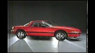 1989 Buick R Cars Commercial