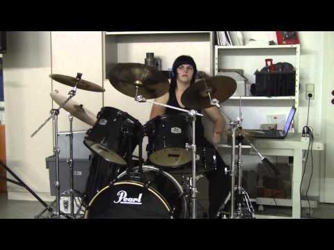 Anne Pilz Drum Clip 2 (Böhse Onkelz - Das Problem bist du)