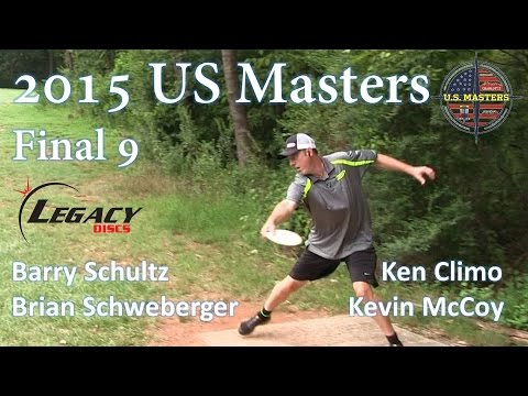 The Disc Golf Guy - Vlog #331 - US Masters Final 9 - B Schultz, K McCoy, K Climo, C Todd
