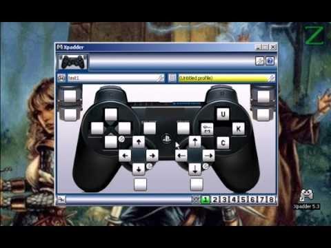 configurar mouse e teclado no joystick xpadder youtube