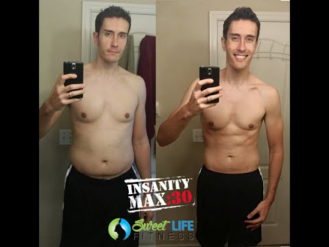 INSANITY Max 30 Results Before And After 60 Days YouTube