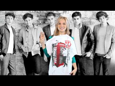 Win an Official One Direction Autographed T-Shirt!!