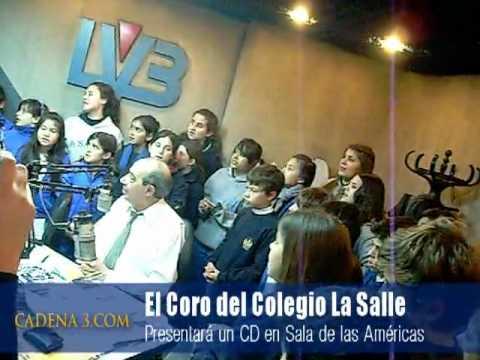 Coro de niños del Colegio La Salle